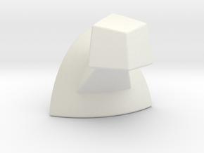 Mini 7x7 Corner (2 of 3) Print 8 in White Natural Versatile Plastic