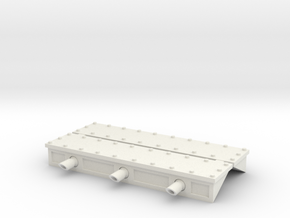 W4K01 Gunport Covers in White Natural Versatile Plastic