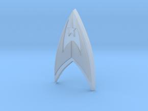 Fleet Badge in Smooth Fine Detail Plastic