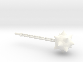 Megatron Flail 1 in White Strong & Flexible Polished