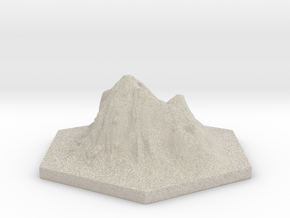Catan_volcano_hex in Sandstone