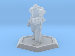 Mecha- Odyssey- Ajax (1/500th) in Smooth Fine Detail Plastic
