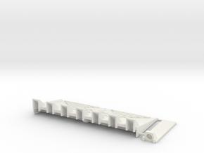 W4K15 Fleur Dozerblade in White Natural Versatile Plastic