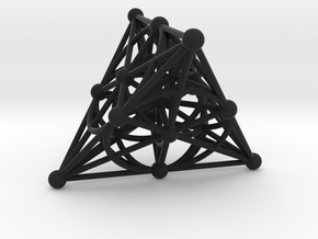 001: PG(3,2) - the smallest projective space in Black Strong & Flexible