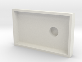 HO/ On30 Oil Bunker for Bachmann Steam in White Natural Versatile Plastic