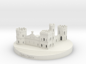 Clytha Castle in White Natural Versatile Plastic