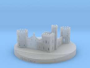 Clytha Castle in Smooth Fine Detail Plastic