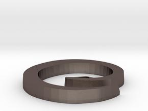 Snake Pendant 2 in Stainless Steel