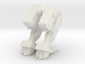 AWA amphib mech legs, walking mode in White Natural Versatile Plastic