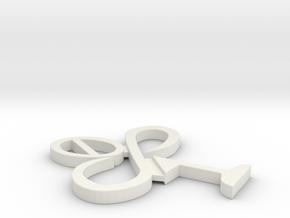 SoftwareClover in White Natural Versatile Plastic