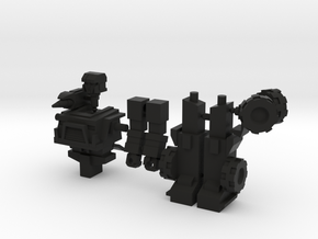 Hound minifigure in Black Strong & Flexible