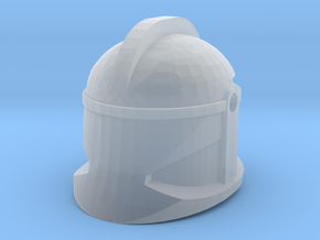 P1 CW Round Fin in Smooth Fine Detail Plastic
