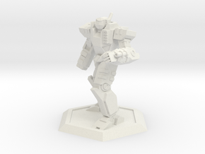 Mecha- Odyssey- Achilles Pose 2 (1/285th) in White Strong & Flexible