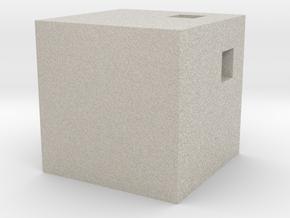 Pendant - Kube in Sandstone