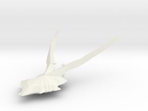 Geweih01 in White Natural Versatile Plastic