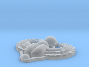 Scarab Pendant in Smooth Fine Detail Plastic