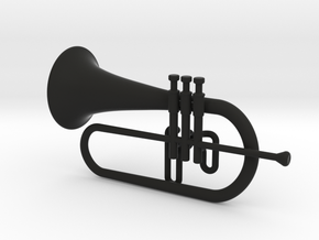 Flugel Horn in Black Strong & Flexible