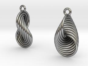 Eardrops IV - Hopf (S) in Natural Silver
