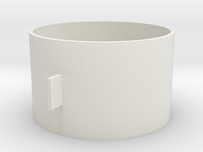MDF25/12 in White Natural Versatile Plastic