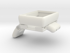 BeveledCaseWithoutBuckle in White Natural Versatile Plastic