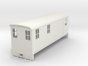 On30 Boxcab loco body in White Natural Versatile Plastic