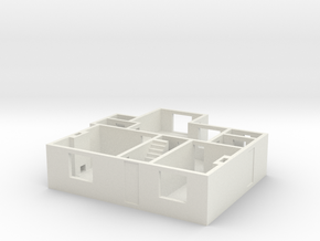 CF Ground floor in White Natural Versatile Plastic