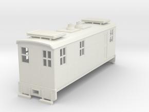 HOn30 Boxcab in White Natural Versatile Plastic