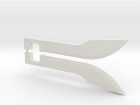 Prime Blades (pair) in White Natural Versatile Plastic