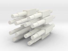 JC KKC in White Natural Versatile Plastic