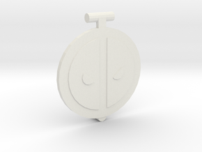 Dead Lid in White Natural Versatile Plastic
