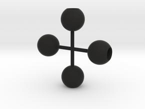 light_globe_1/32 in Black Strong & Flexible