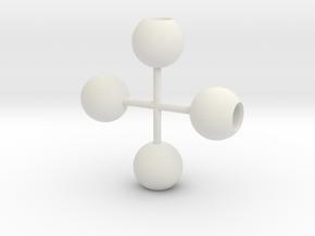 light_globe_1/32 in White Natural Versatile Plastic
