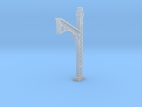 Flying Buttress with Circle Motif in Smooth Fine Detail Plastic