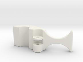 safety clip no leg 8-4-10 in White Natural Versatile Plastic
