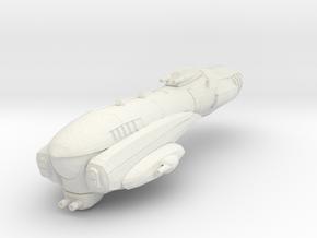 Imperial Assault Ship in White Natural Versatile Plastic