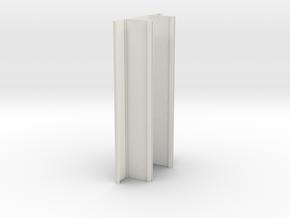Trunk Back Body in White Natural Versatile Plastic