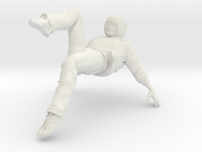 Male dancer in White Natural Versatile Plastic
