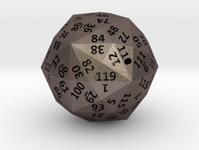 Disdyakis Triacontahedron d120 4cm hollow in Stainless Steel