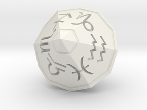 Zodiac (solid) in White Strong & Flexible