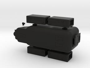 Zaad 829 LuftWagen APC in Black Strong & Flexible