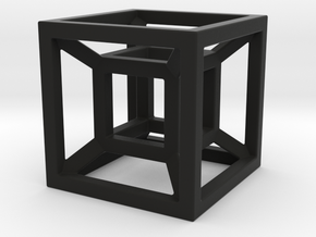 4D Cube in Black Strong & Flexible