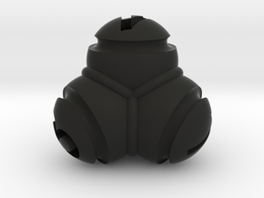 Tetrablob (large) in Black Strong & Flexible
