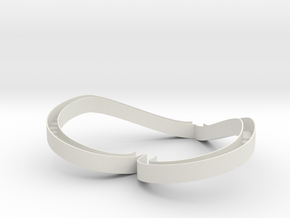 miniNL Loveslide(1:100) in White Natural Versatile Plastic