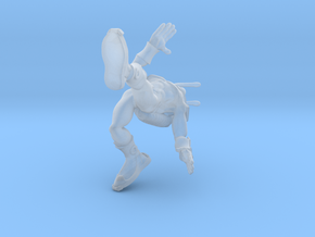 Antman normal sized in Smooth Fine Detail Plastic