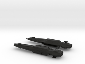 USF Carrier x 2 in Black Natural Versatile Plastic