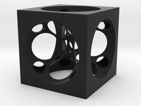 Cube !Spheres in Black Strong & Flexible