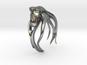 Octo, No.1 in Polished Silver