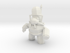 Panda bot in White Natural Versatile Plastic