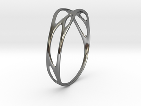 Branching No.1 in Polished Silver