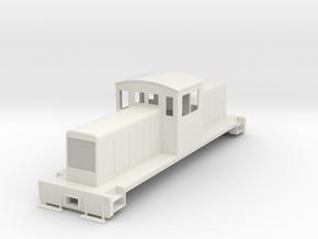 ON30 Centercab conversion for Bachmann FM in White Natural Versatile Plastic